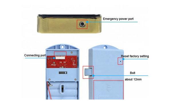 Locker Lock--JYL-L12 interface