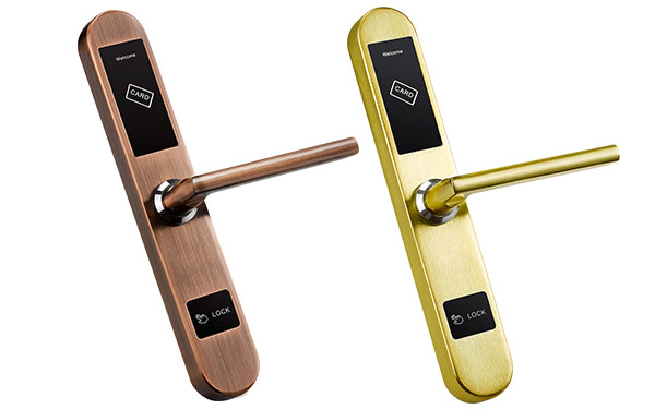 Hotel Lock System JYF-E01M bronze and gold