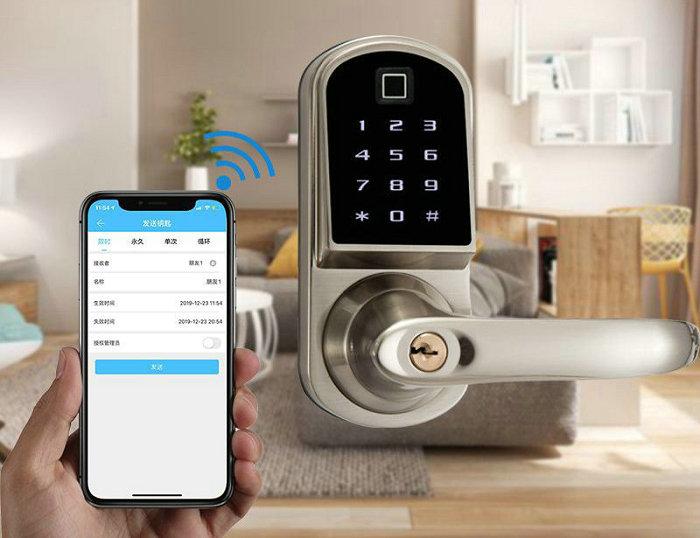 Bluetooth Lock JYF-S201BL-F APP unlock