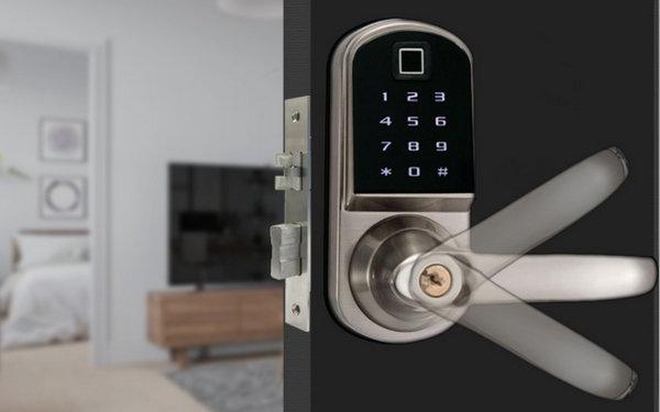 Bluetooth Lock JYF-S201BL-F Installation effect