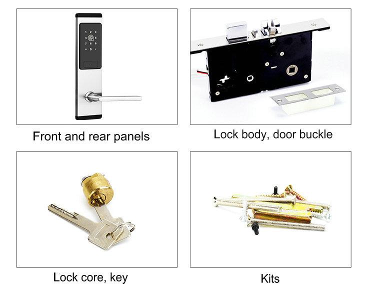Bluetooth Lock JYL-S2019C packing list