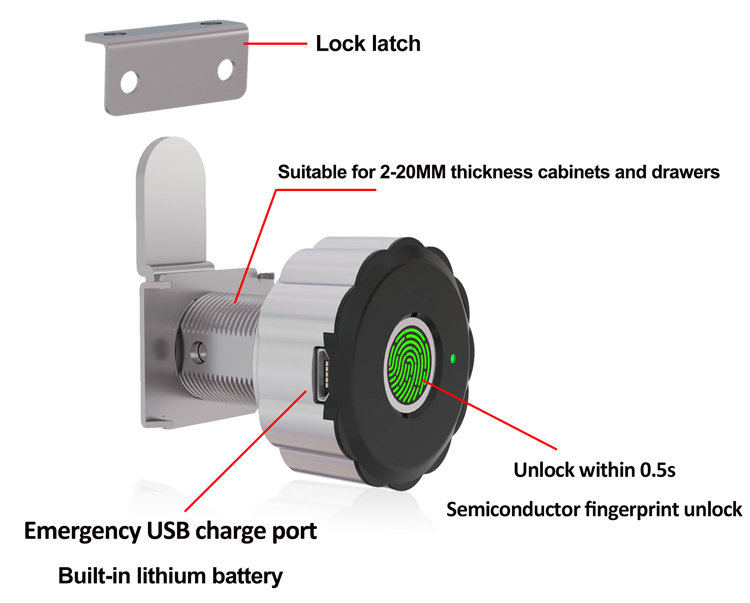 Tuya Locker Lock JYD-L32FT Part description