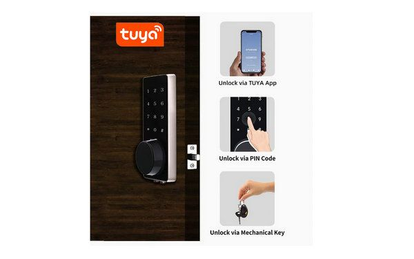 JYL-S220BTY WIFI TUYA Lock Unlocking method